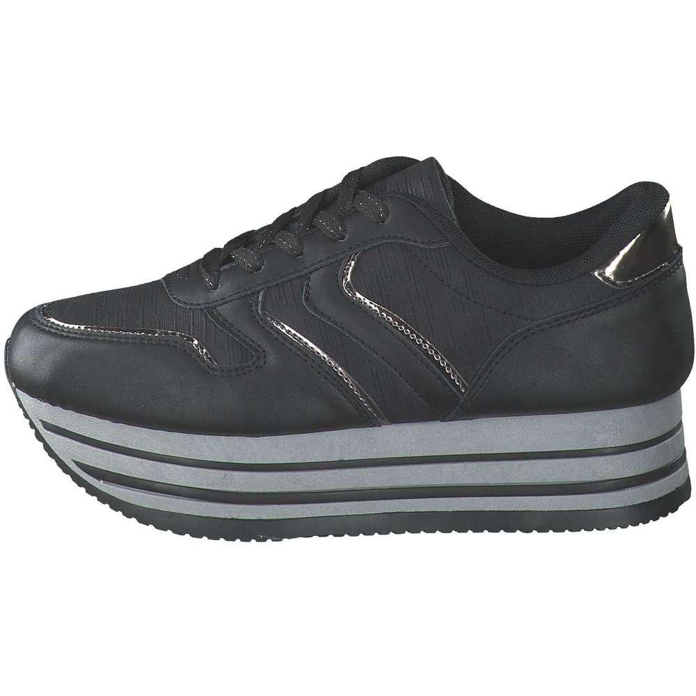 Claudia Ghizzani Plateau Sneaker schwarz