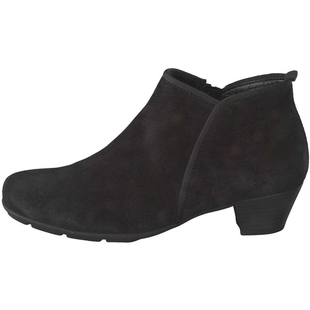 gabor damen ankle boots in schwarz reduziert bei. Black Bedroom Furniture Sets. Home Design Ideas