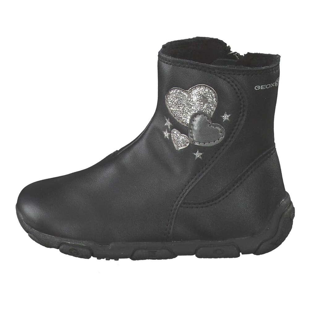 brand new e4919 55887 Geox - B Balu Girl Stiefel - schwarz   Schuhcenter.de