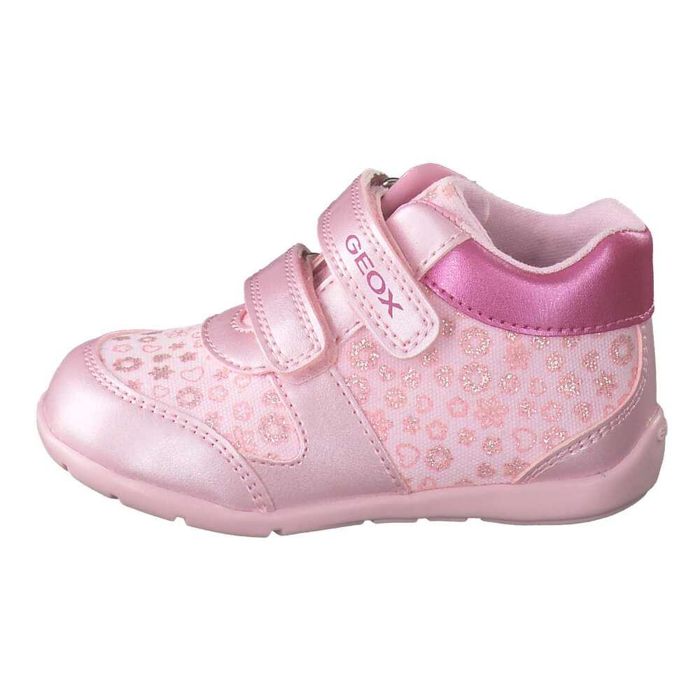 f6488e290aedd9 Geox B Elthan Girl Lauflerner rosa
