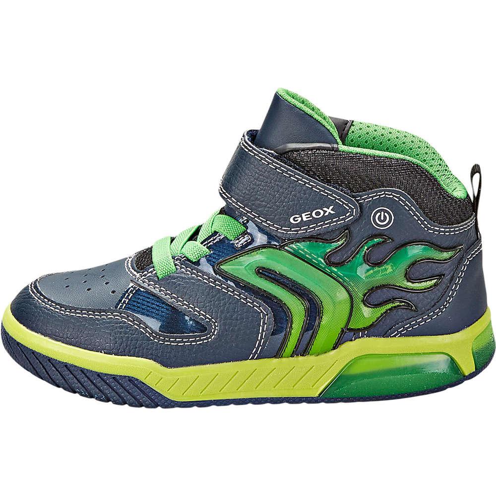Geox Jr Inek Boy Sneaker High blau ❤️ |