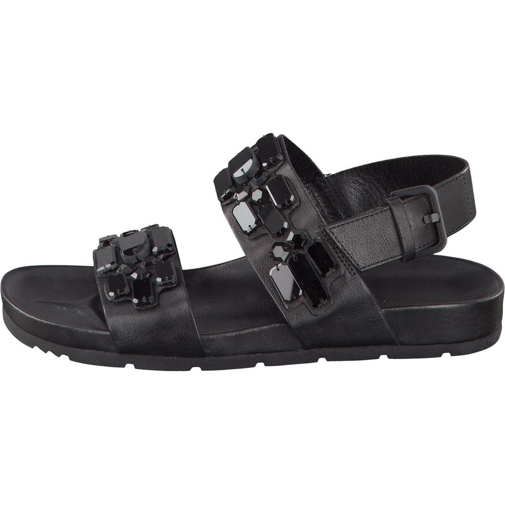 kennel und schmenger sandale in schwarz. Black Bedroom Furniture Sets. Home Design Ideas