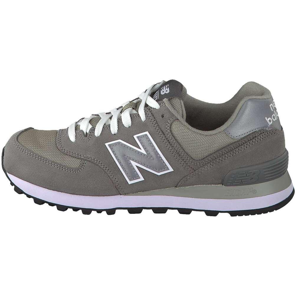 new balance m574gs herren sneaker grau reduziert bei. Black Bedroom Furniture Sets. Home Design Ideas