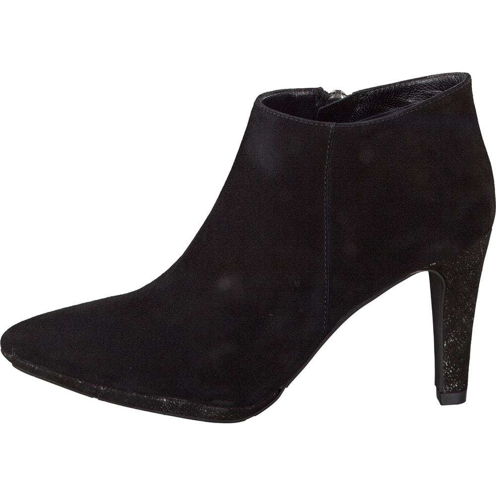 perlato ankle boot in schwarz. Black Bedroom Furniture Sets. Home Design Ideas