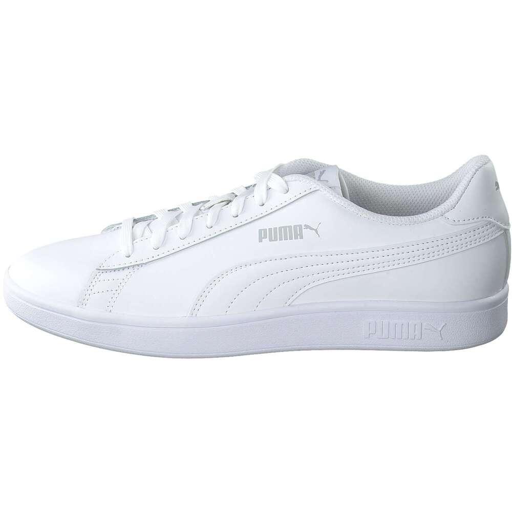 459f0e5c76 PUMA Lifestyle - Smash v2 L Sneaker - weiß   Schuhcenter.de