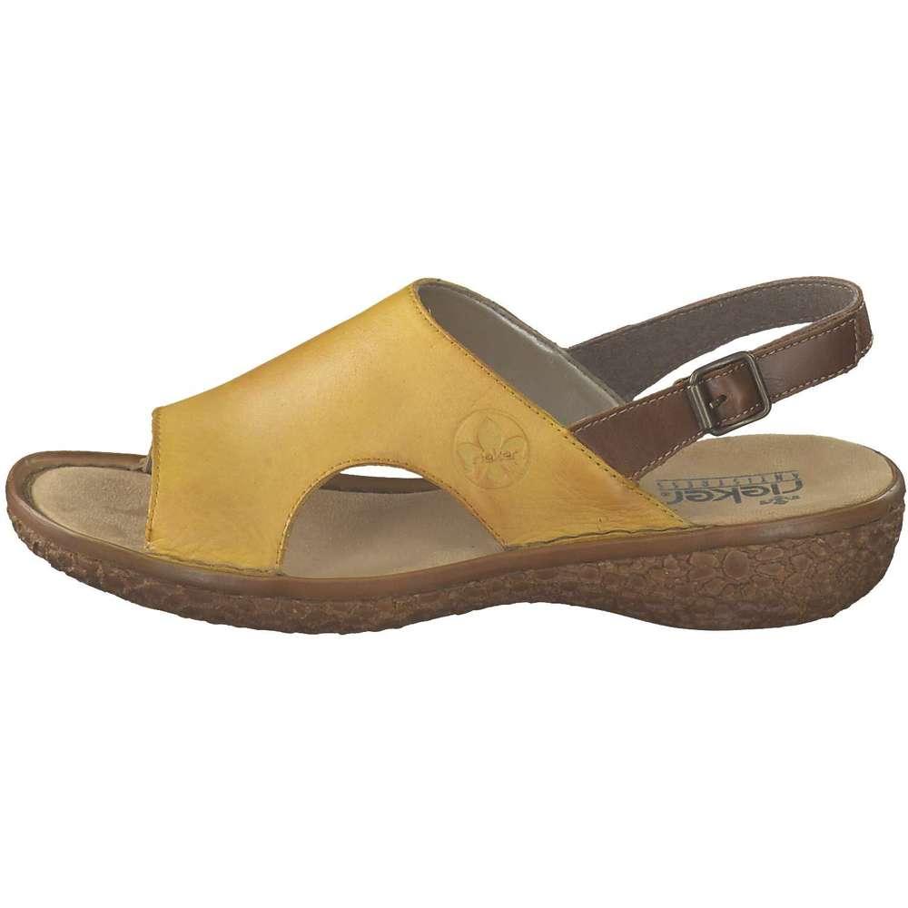Rieker Sandale gelb ❤️ | G24Jn
