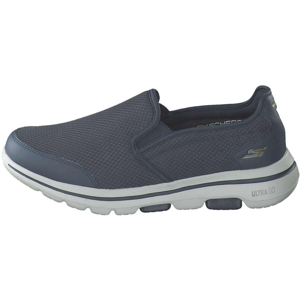 Skechers Go Walk Damen Sneaker Slipper Blau