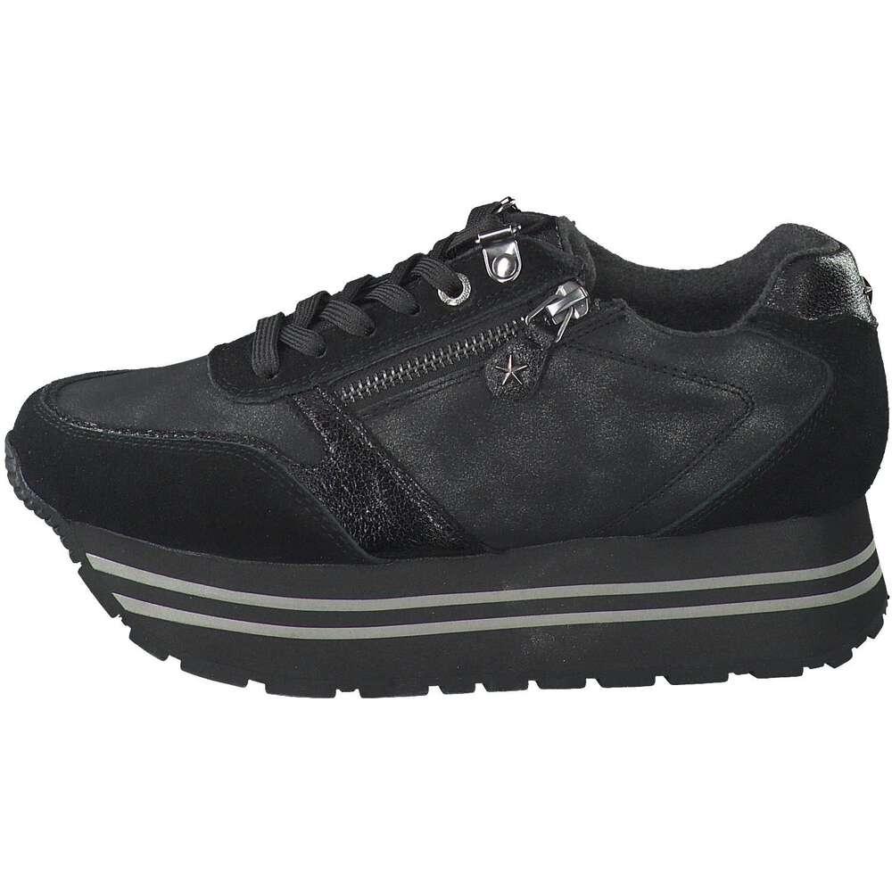 Sunshine Sunwalk Plateau Sneaker schwarz