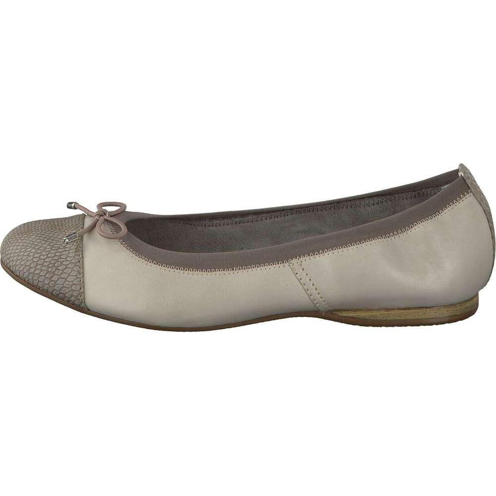 tamaris damen 22111 geschlossene ballerinas silber silver comb 948 38 eu. Black Bedroom Furniture Sets. Home Design Ideas