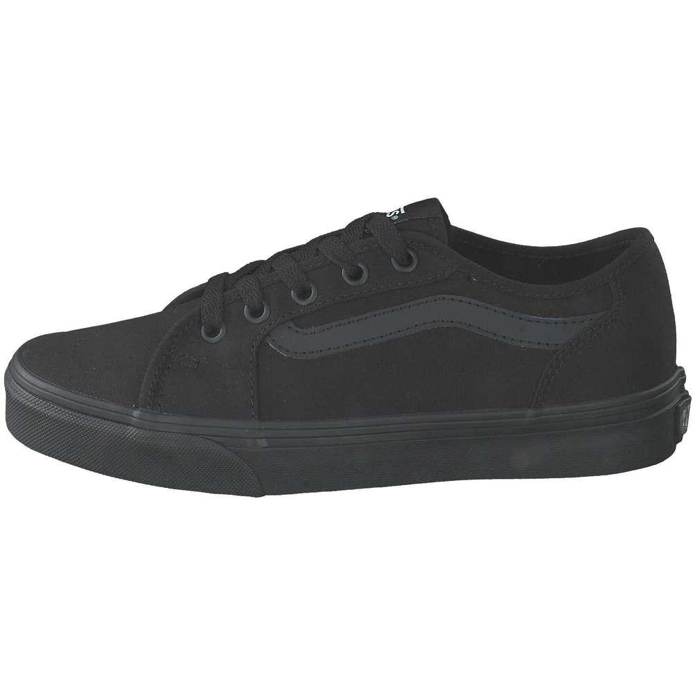 Vans MN Filmore Decon Sneaker in Canvas black white