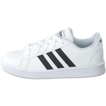 adidas - Grand Court K Sneaker - weiß