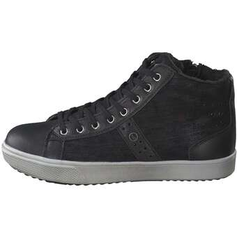 Inspired - Sneaker High - schwarz