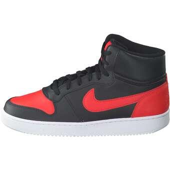 Nike Sportswear Nike Ebernon Mid Sneaker schwarz