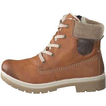 Rieker - Schnür Boots - braun