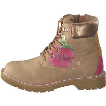 Sunshine Flower Schnür Boots