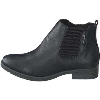 hot sale online 74257 ca6f6 Tom Tailor - Chelsea Boots - schwarz