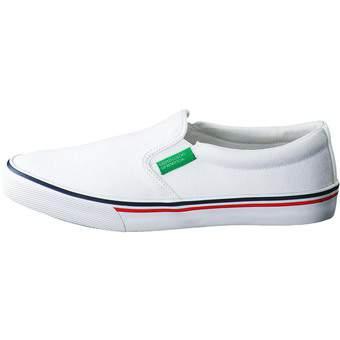 United Colors Of Benetton Leinen Slipper