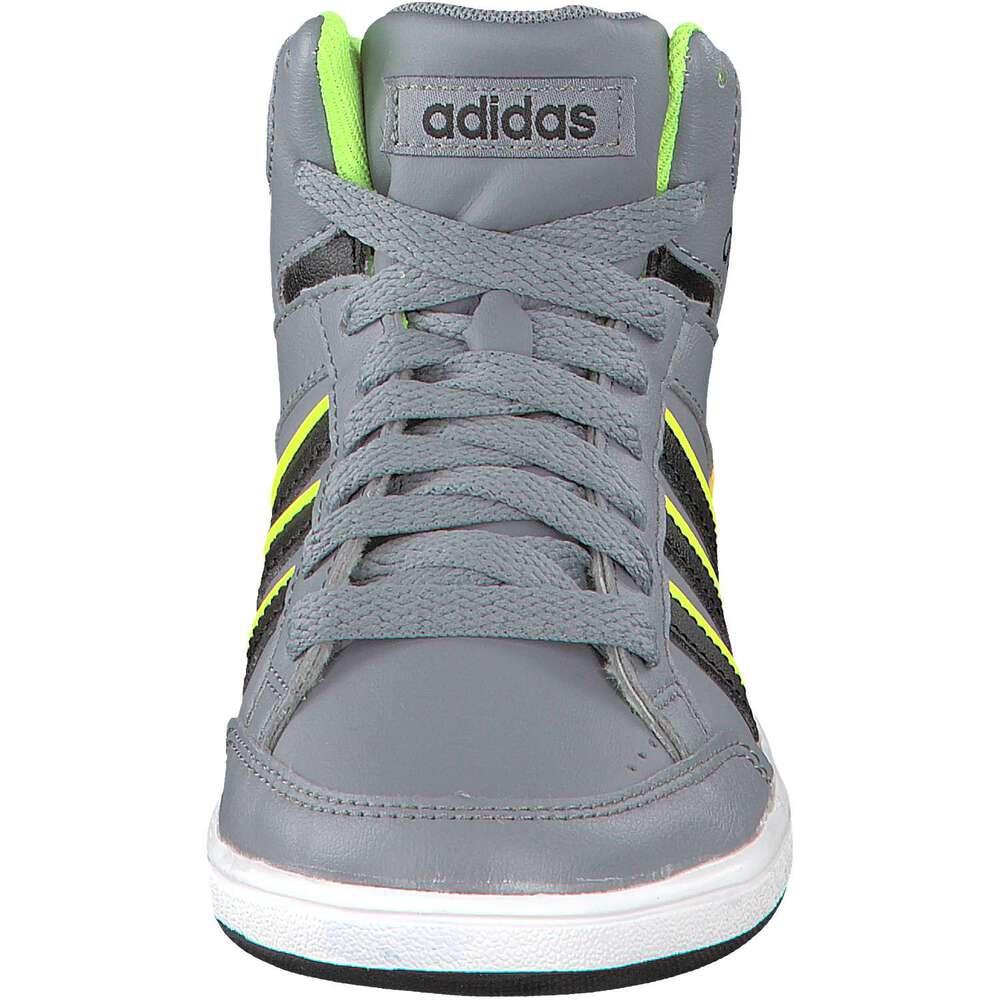 pin adidas neo hoops mid kids zwart aktiesportnl schoenen. Black Bedroom Furniture Sets. Home Design Ideas