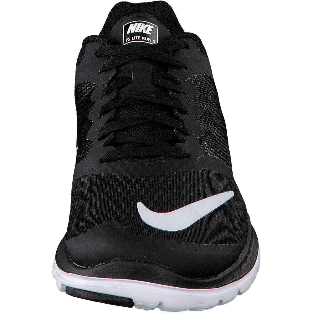 Nike FS Lite Run 3 Running Shoe Black Black Famous Footwear