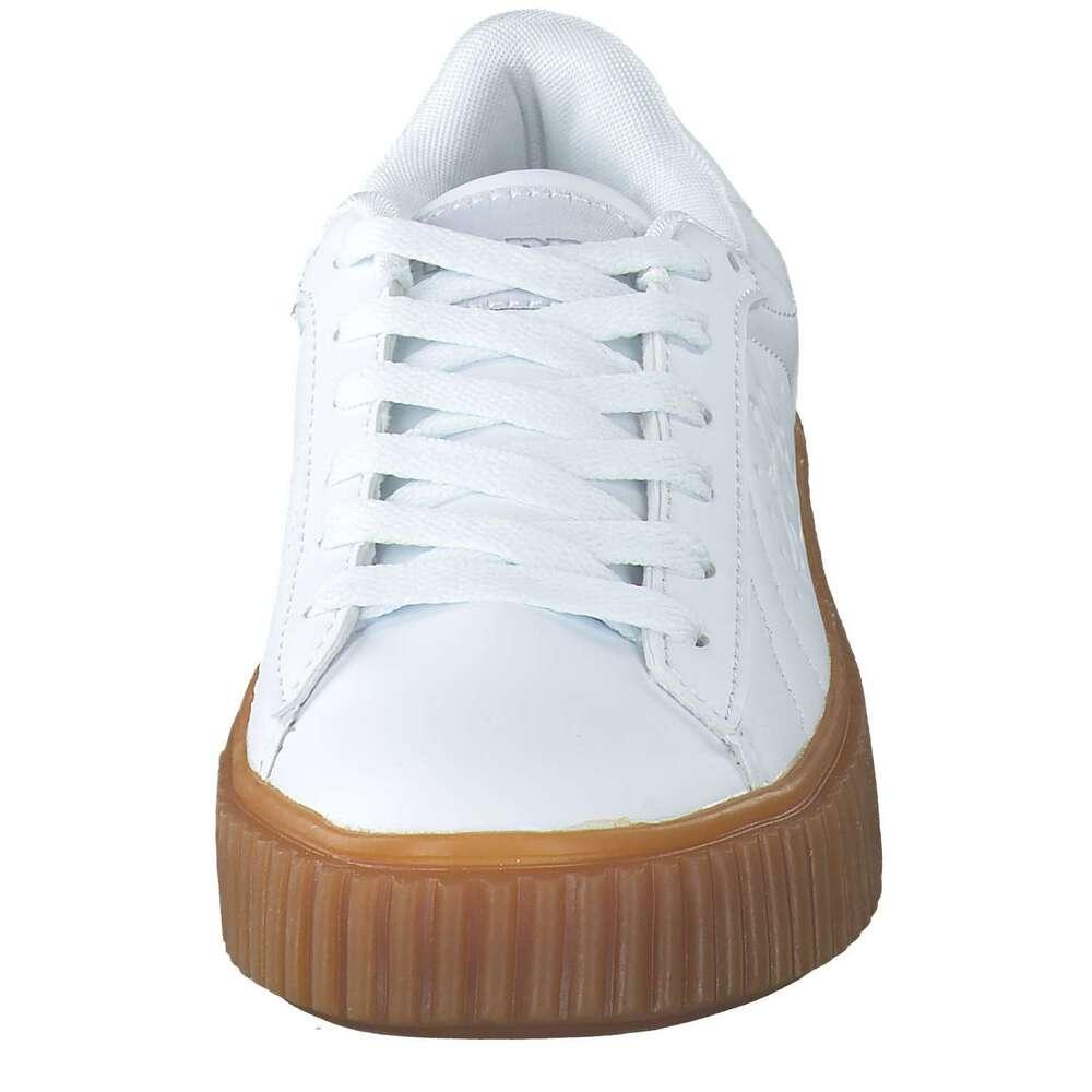 Kappa Meseta RB modische Herren Synthetik Sneakers white