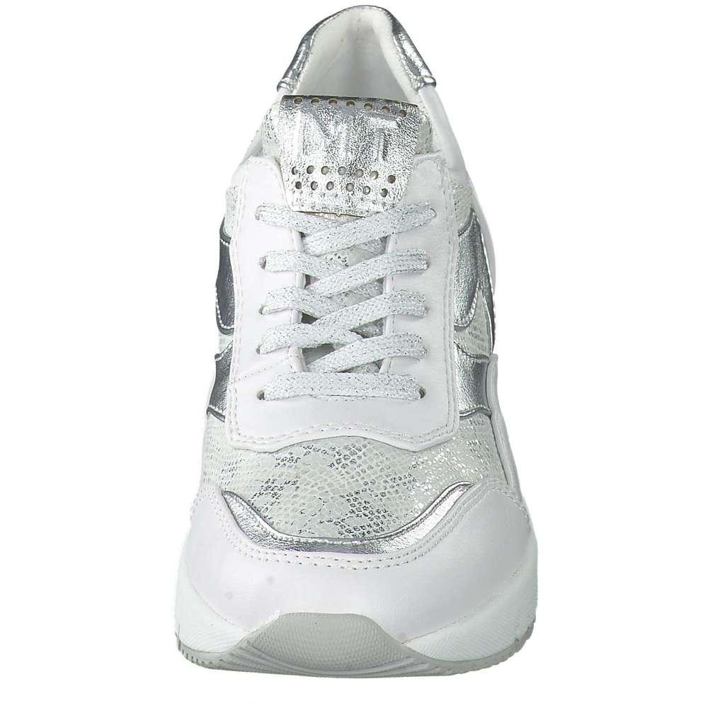 Marco Tozzi Keil Sneaker grau ❤️ |