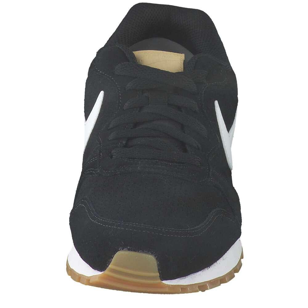 Nike Sportswear MD Runner 2 Suede Sneaker schwarz