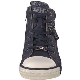 Mustang - Hightop-Sneaker - blau