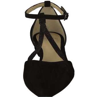 Perlato - Spangenballerina - schwarz