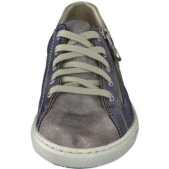Rieker - Sneakerschnürer - blau