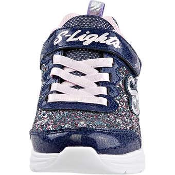 Skechers Glimmer Kicks Glitter N Glow blau