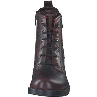 detailing a7273 32773 Wrangler - Fire Lace Schnürstiefelette - rot