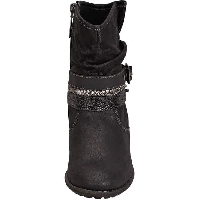 home damen stiefeletten biker boots s oliver stiefelette schwarz. Black Bedroom Furniture Sets. Home Design Ideas