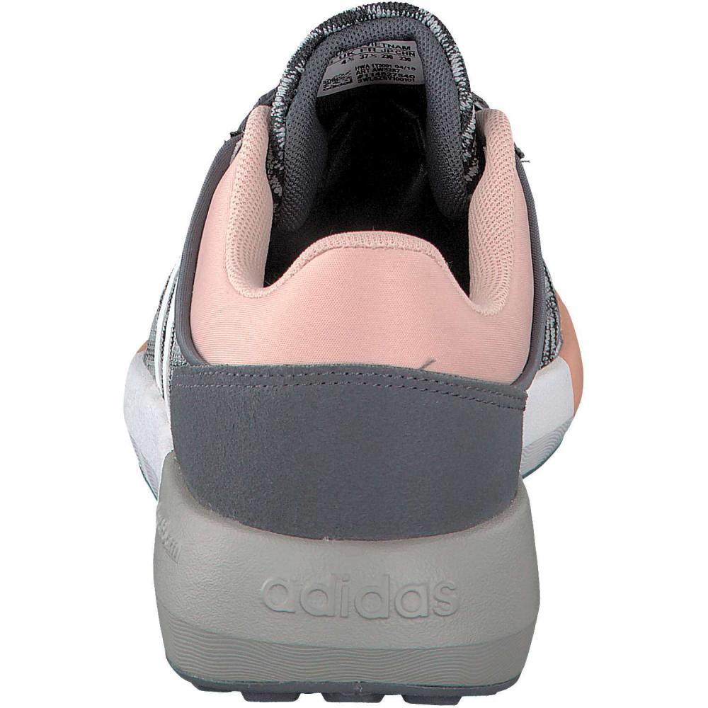 adidas neo damen sneaker cloudfoam race grau. Black Bedroom Furniture Sets. Home Design Ideas