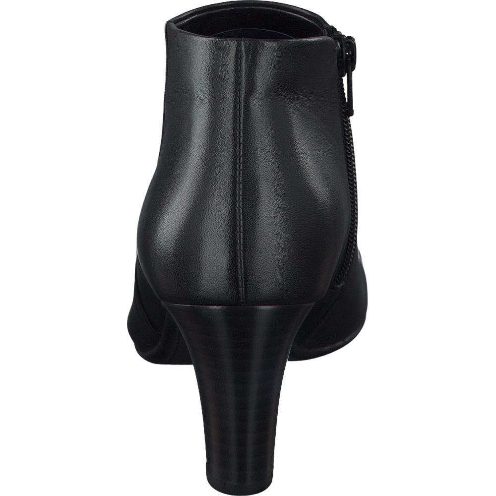 gabor ankle boot in schwarz. Black Bedroom Furniture Sets. Home Design Ideas