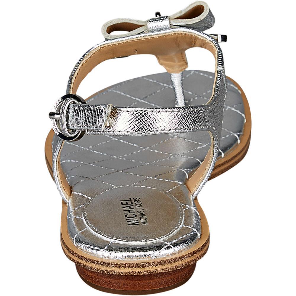 michael kors alice thong sandale silber. Black Bedroom Furniture Sets. Home Design Ideas