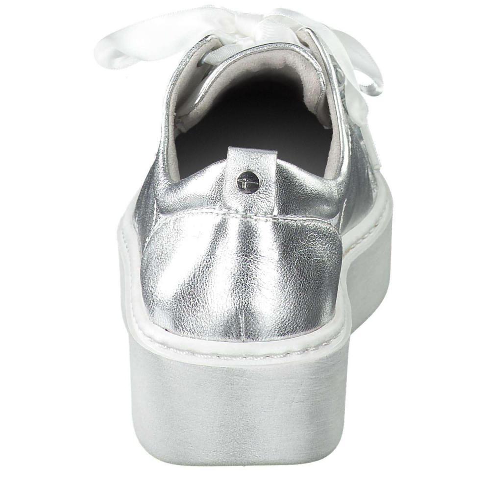 Tamaris Plateau Sneaker silber |