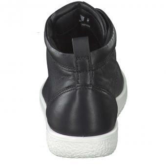 Ecco - Soft 1 High Sneaker - schwarz
