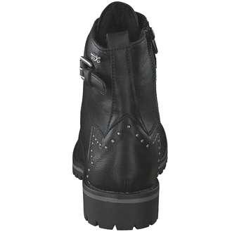 Indigo Biker Boots
