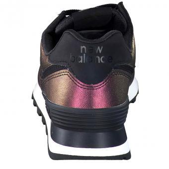 the best attitude 49d0e fb673 New Balance - WL574 KSB Sneaker - schwarz
