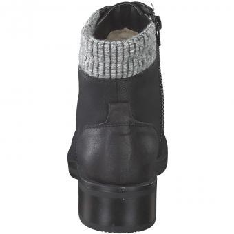 Only - Schnür Boots - schwarz