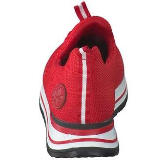 Rieker Plateau Sneaker rot ❤️ |