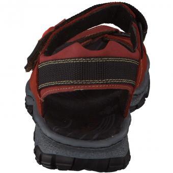 Rieker - Trekking-Sandale - rot