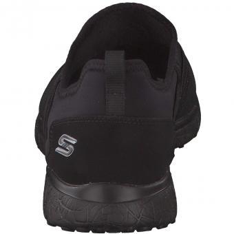 Skechers - Microburst Under Wraps Slip-On - schwarz