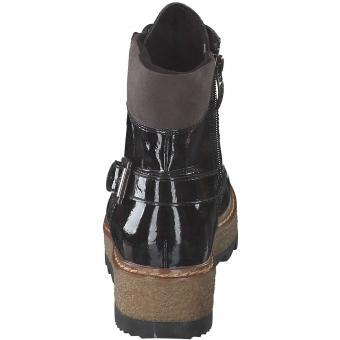 Tamaris - Schnür Boots - schwarz