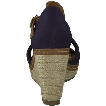 Tom Tailor - Sandale Fersenkappe - blau