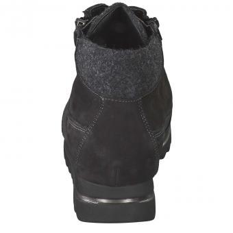 Waldläufer - Haiba Schnürstiefelette - schwarz