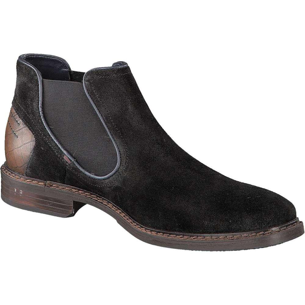 business schuhe herren bugatti chelsea boots bene schwarz. Black Bedroom Furniture Sets. Home Design Ideas
