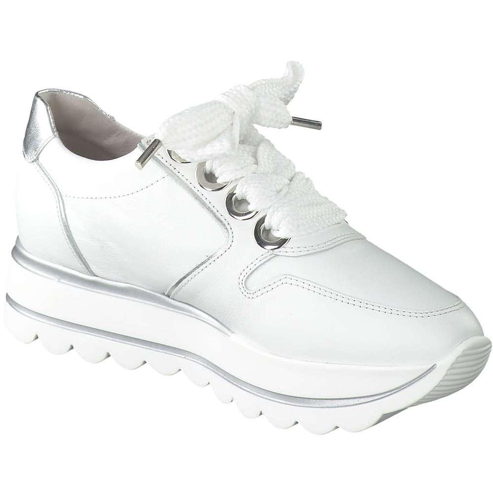 kaufen Schnelle Lieferung auf großhandel Gabor - Plateau Sneaker - weiß   Schuhcenter.de