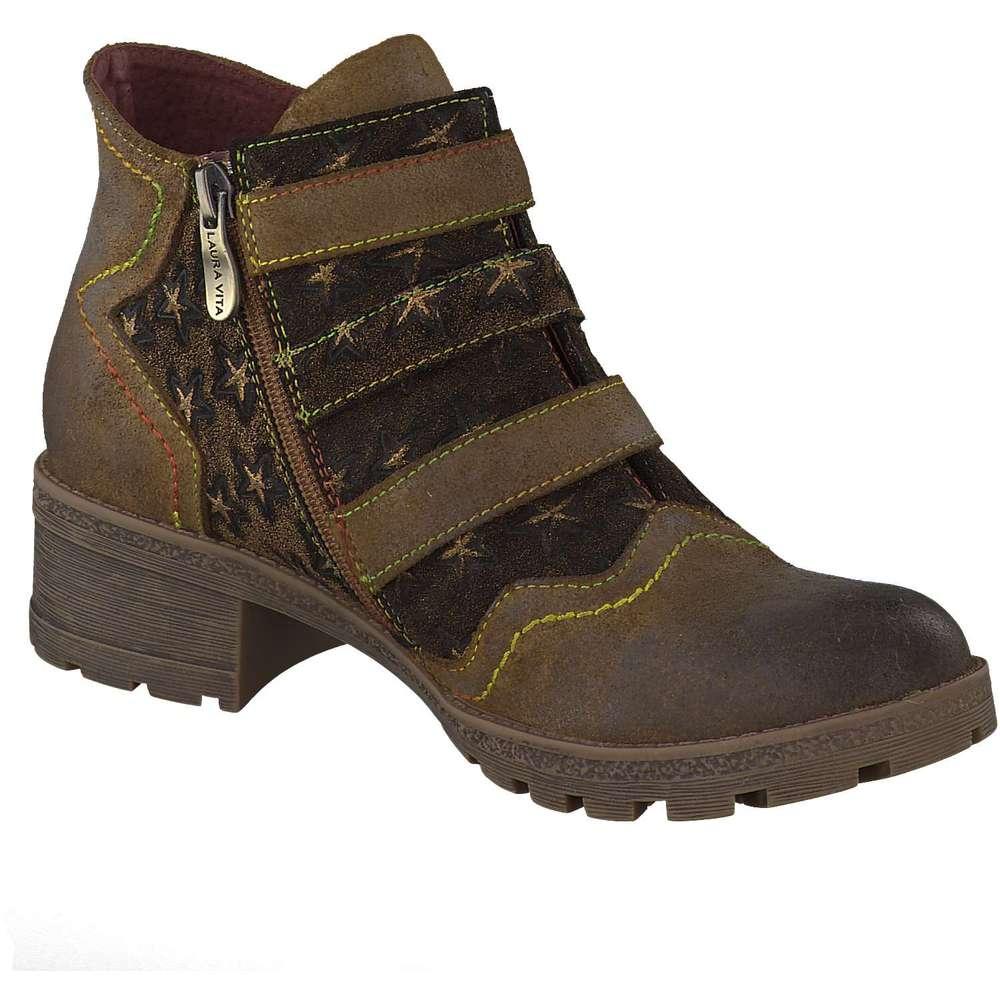 laura vita damen ankle boots in braun g nstig bei. Black Bedroom Furniture Sets. Home Design Ideas