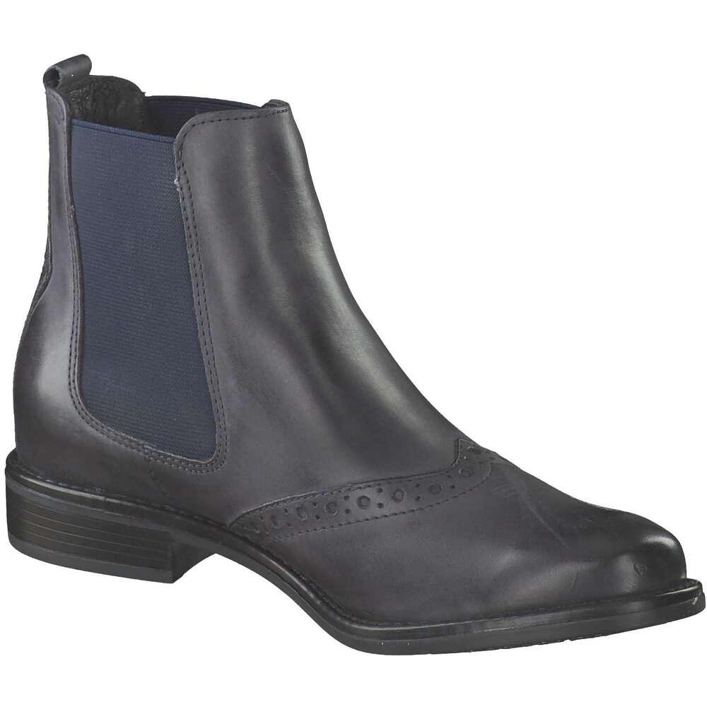 Dina Boots Boots Leone Leone Chelsea Blau Dina Chelsea iXZkuP